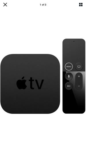 Fourth generation Apple TV brand new in sealed box for Sale in Dallas, TX