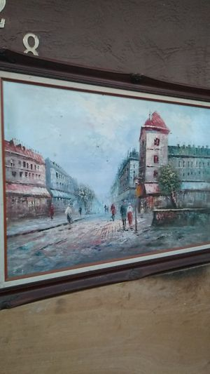"""Oil painting signed """"C. Burnz"""" for Sale in Oceanside, CA"""