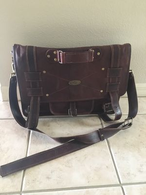 Leather messenger bag for Sale in Tampa, FL
