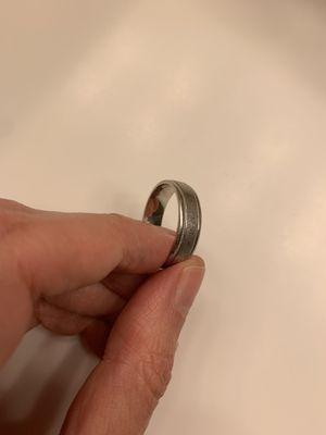 Man wedding ring platinum for Sale in Arlington, VA
