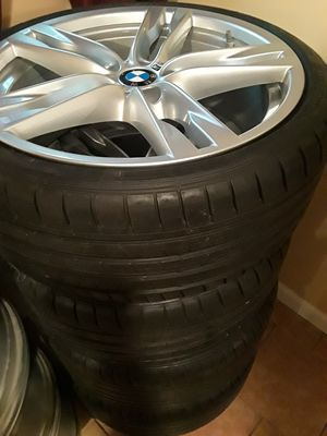 BMW rims and tires for Sale in Maplewood, NJ
