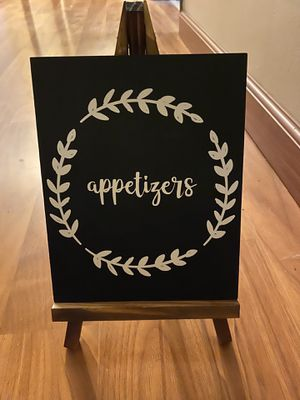 Appetizer sign for Sale in Kent, WA