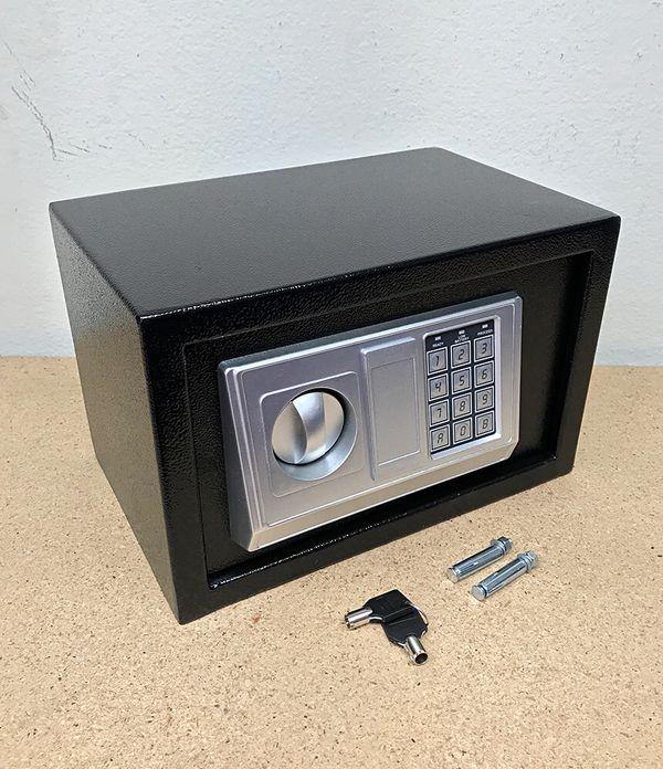 """New $35 Digital 12""""x8""""x8"""" Security Safe Box Electric Keypad Lock Money Jewelry w/ Master Key"""