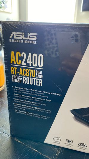 ASUS Dual Band Wireless Router for Sale in Santa Clarita, CA