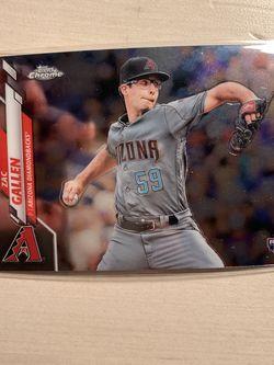 Zac Gallen Rookie Baseball Card for Sale in Pasadena,  CA