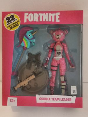 McFarlane Toys Fortnite Cuddle Team Leader Action Figure for Sale in South El Monte, CA