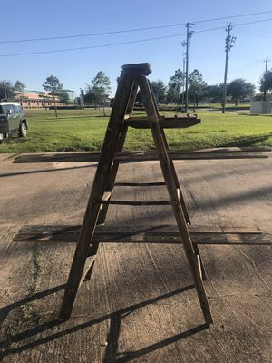 DIY ladder / shelf for Sale in La Porte, TX