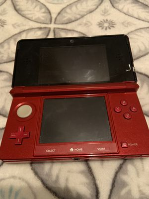Red Nintendo 3Ds used but in great condition for Sale in Plainfield, IL