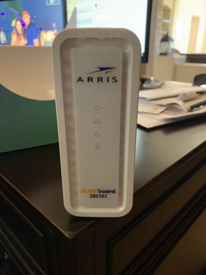 Arias cable modem DOCSIS 3.0 Excellent high speed cable modem for Sale in Gilbert, AZ