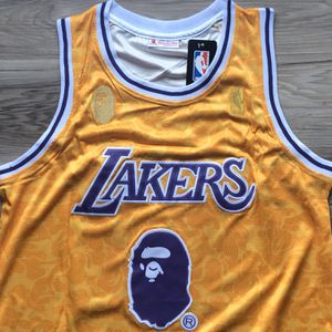 BRAND NEW! 🔥 LeBron James #23 BAPE Los Angeles Lakers Jersey + SIZE XL + SHIPS OUT NOW! 📦💨 for Sale in Los Angeles, CA
