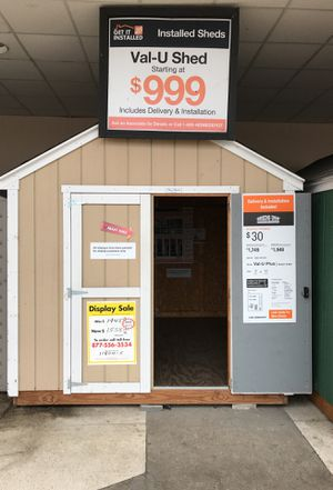 Sheds USA 8x10 Value Plus Shed Elmont NY for Sale in Elmont, NY
