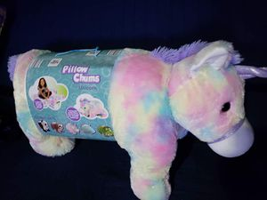 "Kelly Toy 30"" Bee Happy Collection, Pillow Chum Unicorn for Sale in Coral Springs, FL"