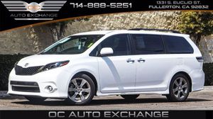 2016 Toyota Sienna for Sale in Fullerton, CA