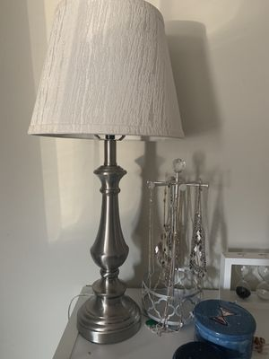 Silver Lamp for Sale in Nashville, TN