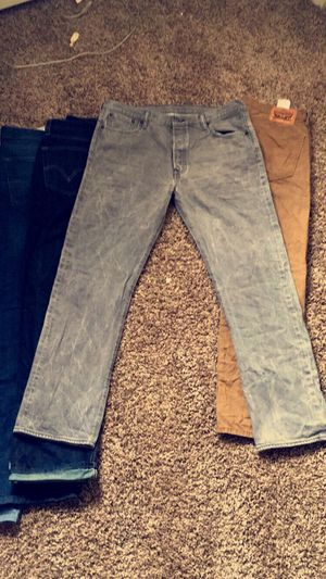 Grey Levi Jeans for Sale in Morrisville, PA