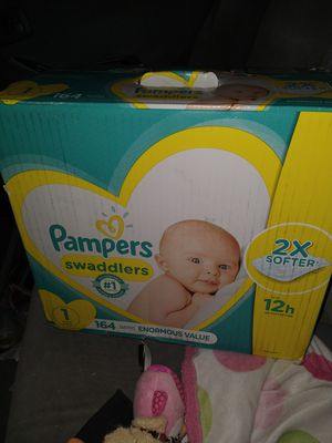 Brand new size 1 diapers for Sale in Salt Lake City, UT