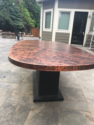 Oios Metal Custom Dining Table - Indoor or Outdoor Table for Sale in Englewood, CO
