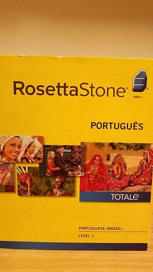 Rosetta Stone Portugues (Brazil) level 1 Version 4 for Sale in Black Mountain, NC