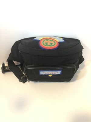 Authentic Gucci Black Terry Patch Rucksack for Sale in San Diego, CA