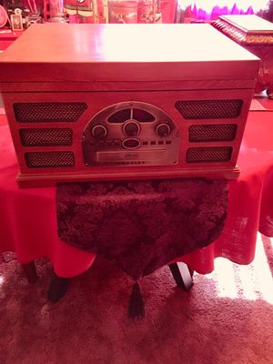 Old Fashion Looking Radio, Tape, CD, Phono Player for Sale in Las Vegas, NV