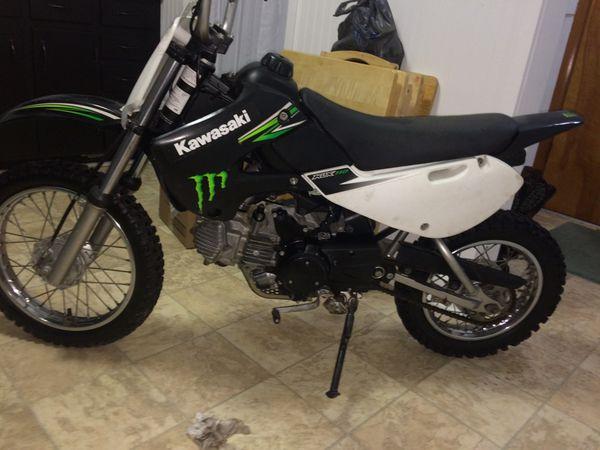 2009 Kawasaki KLX110 Monster Energy Edition