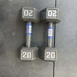 20 Pound Dumbbells for Sale in Los Angeles, CA
