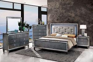 4PC Queen Bedroom Set for Sale in Fresno, CA