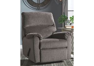 NEW IN THE BOX. NERVIANO GRAY RECLINER, SKU# TC1080329R for Sale in Fountain Valley, CA