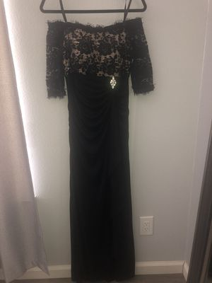 Black evening dress for Sale in Tracy, CA