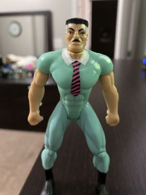 "1994 TOY BIZ Marvel SPIDER-MAN JONAH JAMESON Figure 5"" Super Rare Collectible for Sale in Fayetteville, NC"