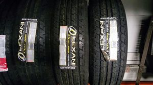 Lexani ST225/75/15 -4 New Trailer Tires, Mounted & Balanced for Sale in St. Louis, MO