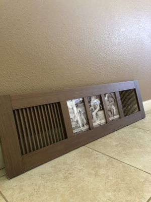Wooden Collage Photo Frame for Sale in Tulare, CA