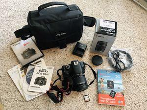 Canon EOS Rebel T5 Camera Bundle! for Sale in San Antonio, TX