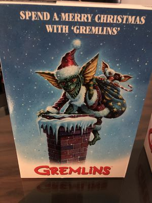 NECA Gremlins Ultimate Santa Stripe & Gizmo Christmas Figure for Sale in Paramount, CA