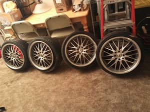 "17 "" rims and tires for Sale in Seattle, WA"