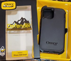iPhone 12 mini Otterbox Defender Series Case with belt clip holster for Sale in Canyon Country, CA