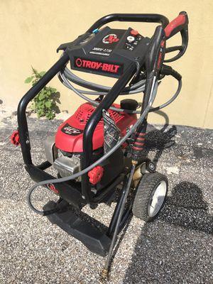 Honda XP GCV 190 Troy-bilt 3000 PSi 2.7 MAX GPM pressure washer gas portable for Sale in Austin, TX