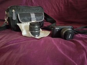 Nikon J1 with extra large lense for Sale in Spring Valley, CA