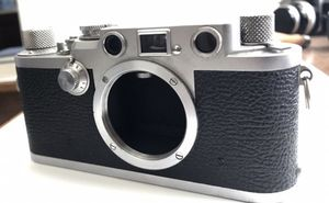 Leica IIIF Red Dial; Body and Case Only for Sale in North Las Vegas, NV
