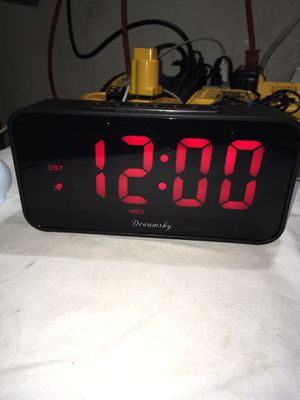 Alarm clock Led new for Sale in Hacienda Heights, CA