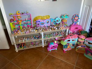 assortment of toys (LPS, accessories, etc.) for Sale in Naples, FL