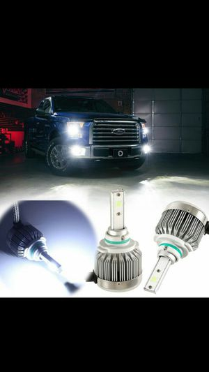Led headlight bulb kit and hid headlight conversion kit lights- h13 9007 h4 9006 h7 9008 h1 9012 any bulb size. Ford f150 f250 fusion explorer 2 dodge for Sale in Phoenix, AZ