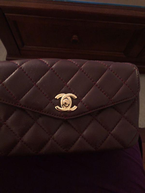 Chanel waist belt bag (banana)