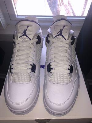 Jordan 4 Metallic Purple for Sale in Chicago, IL