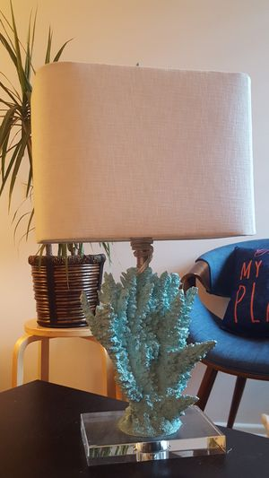 Coral lamp for Sale in Santa Monica, CA