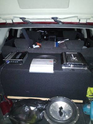 """Selling 3 car amplifiers!""(amps only!) for Sale in Fresno, CA"