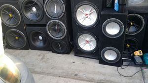 15s 12s 10s subwoofers for Sale in Las Vegas, NV