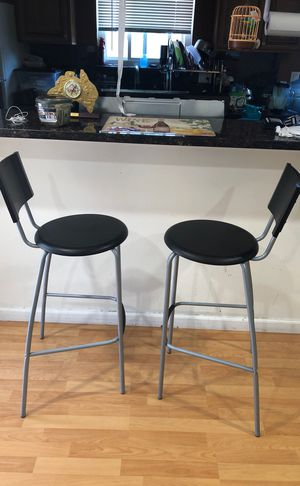 2 bar stool like new for Sale in San Jose, CA