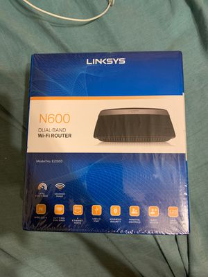 Linksys E2500 N600 Dual-Band Wi-Fi Router for Sale in Roseville, MI