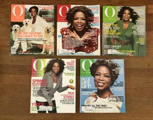 2007 Oprah Magazines: January, February, March, April, May for Sale in Long Beach, CA